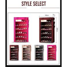 Tủ giày dép 7 tầng 6 ngăn bọc vải cao cấp giá rẻ – 99K CHỈ HÔM NAY