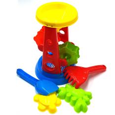 Đồ chơi xúc cát, guống cát bằng nhựa cao cấp đẹp, an toàn cho bé
