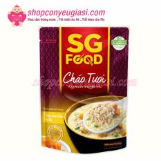 Cháo Tươi SG Food 270gr Nhiều Vị Cho Bé Từ 12m+ – Thịt Bằm Bí Đỏ