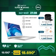 [TRẢ GÓP 0%] Laptop Dell Vostro 5502 15.6 inches FHD (Intel / i5-1135G7 / 8GB / 256GB SSD / Finger Print / McAfee MDS / Win 10 Home SL) l Silver l P102F002 l HÀNG CHÍNH HÃNG