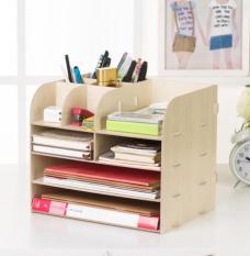 Hanrui Shop Kệ để dụng cụ văn phòng, kệ đựng sách và tài liệu lắp ráp