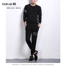 Bộ Quần áo nam thun thể thao 3 vạch mã TT75 đẹp jogger hot trend phong cách hàn quốc chất vải mềm mại