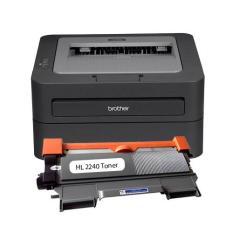 Máy in Laser Brother HL-2240D (in A4, tự động đảo giấy) tặng kèm hộp mực , dây nguồn , dây USB mới