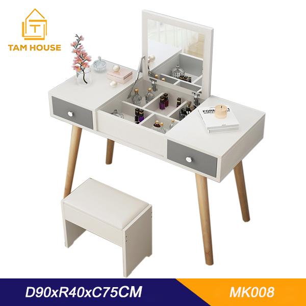 Tâm House Bàn trang điểm thiết kế thông minh – MK08