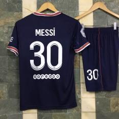 Bộ quần áo bóng đá Messi PSG Jordan sân nhà 2022