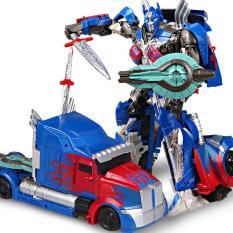 Robot biến hình ô tô Transformer mẫu Optimus Prime trong phim The Last Knight – OP601A