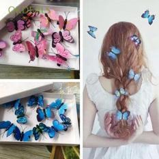 kẹp tóc bướm 3d (combo 5 kẹp)