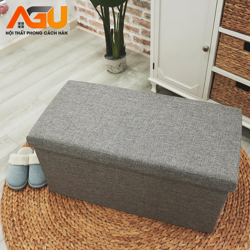 Sofa hộp đa năng đựng đồ đa năng – Size XL 76 x 38 x 38 cm