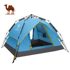 Camel Lều Chống Mưa Tự Động Hoàn Toàn 3 Người 4 Mùa Ngoài Trời Lều Mở Nhanh Tức Thì Để Cắm Trại, Đi Bộ Đường Dài, D Thám Hiểm