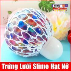 Trứng Lưới Slime HẠT NỞ Nhiều Màu – Bóng Lưới Slime HẠT NỞ – BLN1