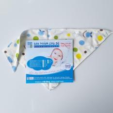 Combo 50 Khăn sữa vải xô quàng cổ (32x32cm) 100% cotton -Hong Nga Baby