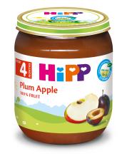 Thức ăn dinh dưỡng đóng lọ HiPP 125g mận tây, táo tây