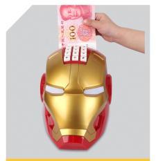 [SIÊU ƯU ĐÃI] Két Sắt Mini Thông Minh Hình Iron Man Mechanic Cao Cấp, Két sắt mini hình Iron Man, Két Đựng Tiền Mini Thông Minh Hình Siêu Anh Hùng Iron Man, Hộp Tiết Kiệm Tiền Người Sắt Ironman Có Khóa – Két Sắt Mini