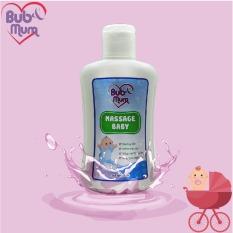 Massage Baby dầu mát xa giữ ẩm, thư giãn cho bé 100ml BuB&Mum