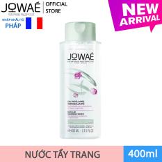 Nước tẩy trang loại bỏ Make up JOWAE 100% làm sạch da không nhờn dính và khô căng Mỹ phẩm thiên nhiên nhập khẩu Pháp MICELLAR CLEANSING WATER 400ml