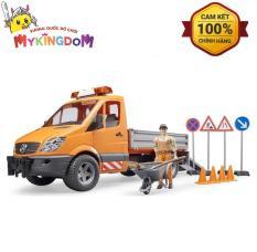 MY KINGDOM – Xe Chuyên Chở BRUDER Mercedes-Benz Trong Đô Thị Với Người Và Bộ Phụ BRU02537