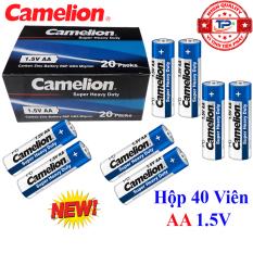 Hộp 40 viên Pin Tiểu AA (2A) Camelion Super Heavy Duty Battery 1.5V – mẫu mới