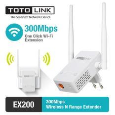 Bộ thu phát Totolink Ex200 300mbps, chất liệu cao cấp, thiết kế hiện đại, dễ dàng sử dụng, đảm bảo hàng như mô tả