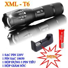 Đèn Pin Siêu Sáng XML-T6, Đèn Pin Police T6