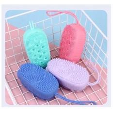 Bông Tắm silicon hình chuột – Miếng tắm silicon – Miếng chà silicon giúp tấy da chết toàn thân