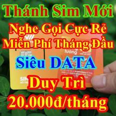 Thánh Sim 4G Mới Miễn Phí DATA Không Giới Hạn- Duy Trì 20K/tháng Vietnamobile – Nghe gọi cực rẻ