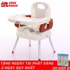 Ghế ăn dặm đa năng, ghế ăn dặm thiết kế siêu hiện đại, cao cấp an toàn cho bé