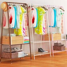 Kệ sắt tĩnh điện chữ A để đồ và treo quần áo – Kmart