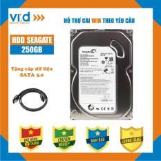 Ổ cứng HDD Seagate 250GB – Nhập khẩu từ Nhật Bản, Hàn Quốc – Bảo hành 3 tháng 1 đổi 1