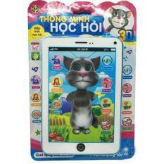 Vỉ đồ chơi Ipad mèo Tom Cat 3D thông minh dùng pin có nhạc ( cho bé)