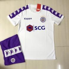 Bộ quần áo đá banh CLB FC Hà Nội Màu trắng