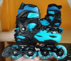 Giày Patin Centosy Kid Pro 2 ( Tặng túi đựng giày + Khóa học miễn phí 3 buổi + bảo hiểm chân tay + mũ bảo hiểm xịn )