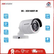 [BEST SELLER] Camera HDTVI 2MP thân hồng ngoại Hikvision DS-2CE16D0T-IR(C) – Camera Home