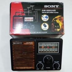 SALE HOT 50 -60% CHO SP Ðài Radio Sony Nhật Hàng Bãi Chuyên dụng ÐỌC THẺ Nhớ, USB MP3 SONY SW-888UAR/ SW-999UAR