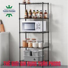 KỆ 5 TẦNG ĐA NĂNG CHỊU LỰC – Có Thể Điều Chỉnh Kích Thước – Stable Shelf Kitchen 5F