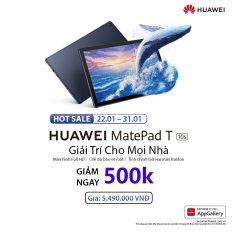 TRẢ GÓP 0% | Máy tính bảng Huawei MatePad T10s (3GB/64GB) | Màn hình Full HD | Chế độ bảo vệ mắt | Tinh chỉnh bởi Harman Kardon | Sản phẩm sẽ được giao từ ngày 22/01/2021