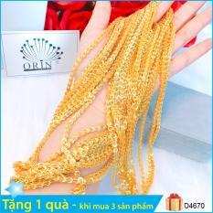 Dây chuyền, dây đeo cổ, dây phụng bền màuthiết kế thời trang Orin D4670