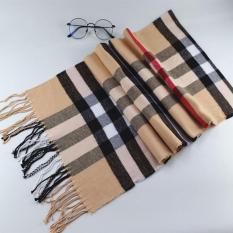Khăn choàng cổ, khăn nữ thời trang, khăn giữ ấm mùa đông vải sọc Caro