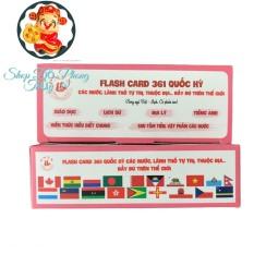 Bộ cờ các nước, 361 quốc gia, vùng lãnh thổ đầy đủ trên thế giới Thích Hợp Cho Các Bé Học tập