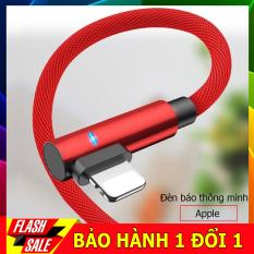 Cáp sạc nhanh cho tất cả các dòng iphone, samsung, huawei, oppo, redmi,có đèn báo sáng thông minh