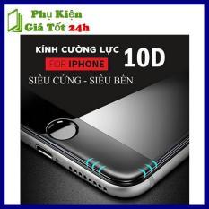 Kính Cường Lực 10D Full Màn Cho Iphone 6/6S/7/8/Plus/X – Siêu Bền
