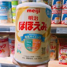 Sữa meiji 0 (800gr) và meiji 1-3 (800gr) nội địa Nhật (BIBO mẹ và bé )