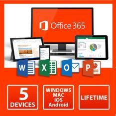 Office 365 bản quyền/ 5 thiết bị