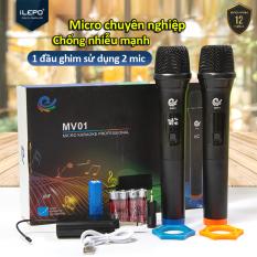 Micro Không Dây, micro loa kéo, micro hát karaoke, chuyên dành cho mọi loa kéo, amly, hát nhẹ và êm, phù hợp cho những bữa tiệc dã ngoại, bảo hành 12 Tháng MV01