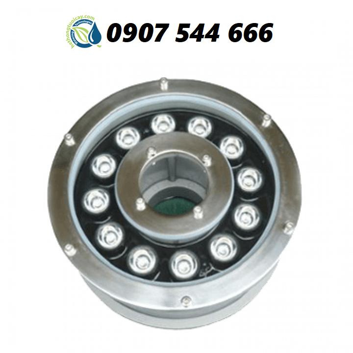Đèn LED âm nước dạng bánh xe 12W đổi màu 24VAC