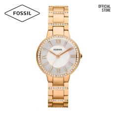 Đồng hồ nữ FOSSIL dây thép không gỉ Virgina ES3284 – màu rose gold