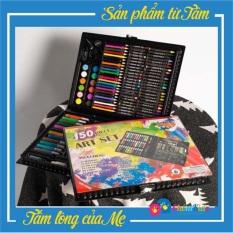 Hộp bút màu 150 Chi Tiết cho bé yêu thỏa sức sáng tạo Chôm Kids