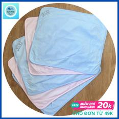 [HCM]Tấm lót chống thấm JOU  1 Mặt Chất vải cotton 100% mềm mịn 1 mặt Nilong mềm viền bo vải   Hàng Việt Nam  Giặt máy thoải mái