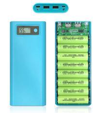[Sỉ] – Khung sạc 8 pin 30.000mAh sử dụng pin 18650 (Mạch mới – Chưa pin)