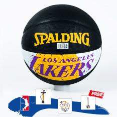 Banh Bóng Rổ Spalding – Outdoor – Tặng bơm bóng + Kim + Túi lưới