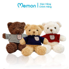 Gấu Bông Teddy Head Tales Mini 20cm Nhồi Gòn Cao Cấp Memon